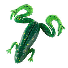 Load image into Gallery viewer, 3pcs Frog Fishing Lures 85mm/13g Soft Artificial Rubber Frog Baits