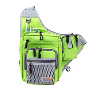 Canvas Cross-Body Fishing Pack