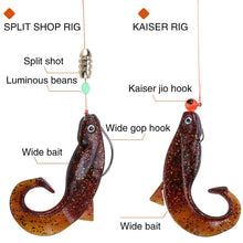 Load image into Gallery viewer, 6Pc Set Big Soft Fishy Worm Lures 8cm 12g