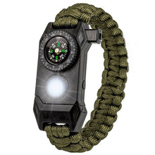 Load image into Gallery viewer, Multi-function Outdoor Survival Bracelets