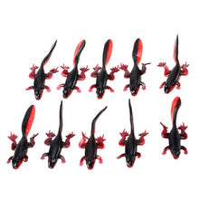 Load image into Gallery viewer, 10 pc Set Soft Fishing Tadpole Lures 3.7g / 8cm