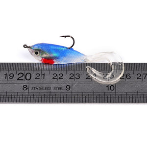 Soft Fishing Lure Grub Type Weights 5g 5.cm 5pcs/bag
