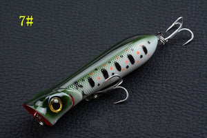 8Pcs/Lot High End Sea Fishing Popper Lures