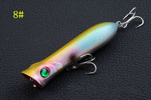 Load image into Gallery viewer, 8Pcs/Lot High End Sea Fishing Popper Lures
