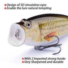 Load image into Gallery viewer, Bionic Topwater Popper Set