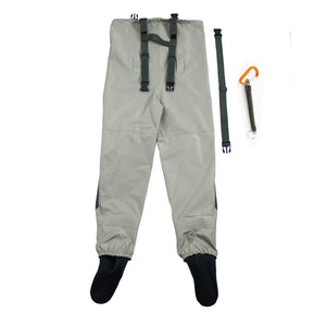 Fly Fishing Waders Stocking Foot, Waterproof and Breathable