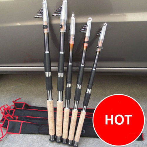 2.1M 2.4M 2.7M 3.0M 3.6M Portable telescopic fishing rod