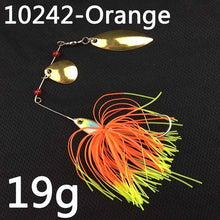 Load image into Gallery viewer, 17g 19g spinner fishing spoon Swisher lure In 12 Colors