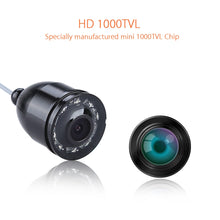 "Load image into Gallery viewer, 4.3"" 15M 1000TVL Underwater LED Fishing Camera"