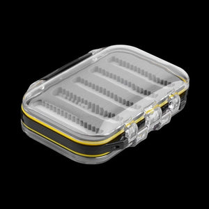 Plastic and Foam Tackle Box