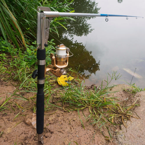 Stainless Steel Automatic Fishing Rod