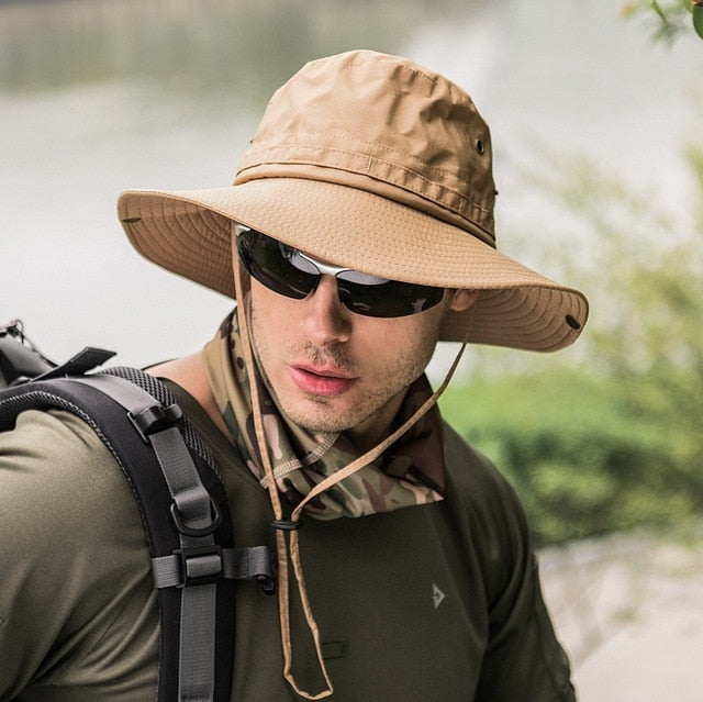 Great Outdoor Hat For Men And Women. Quick Dry Fabric That's Comfortable.