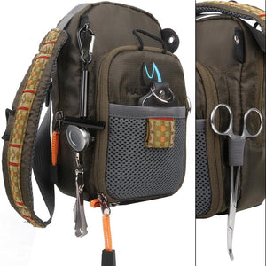 Fly Fishing Chestpack With Fishing Tool Accessory