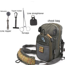 Load image into Gallery viewer, Fly Fishing Chestpack With Fishing Tool Accessory