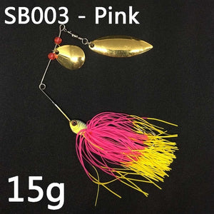 17g 19g spinner fishing spoon Swisher lure In 12 Colors