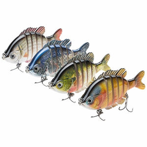 Awesome Life-Like Multi Jointed Swim Baits