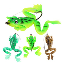 Load image into Gallery viewer, Frog Fishing Lure With Hook