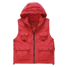 Load image into Gallery viewer, Fast Drying, Hooded and Sleeveless Fishing Vest