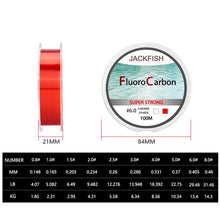Load image into Gallery viewer, Fluorocarbon Fishing Line