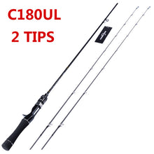Load image into Gallery viewer, Flexible UL spinning rod 1.58m 1.8m 0.8-5g