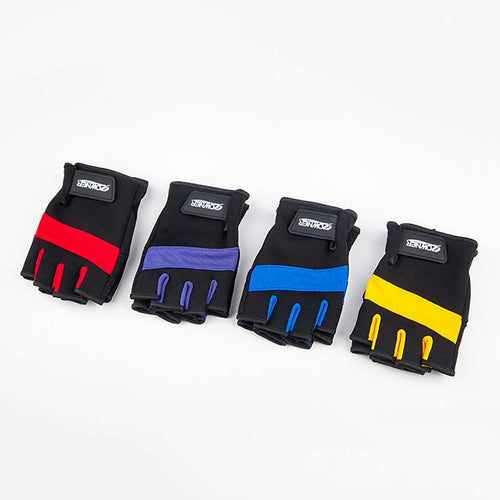 Anti-slip Fingerless Fishing Gloves With Anti-cut Membrane