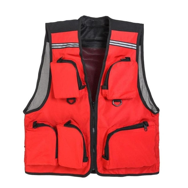 Outdoor Sport Fishing Vest.  Breathable And Comfortable.