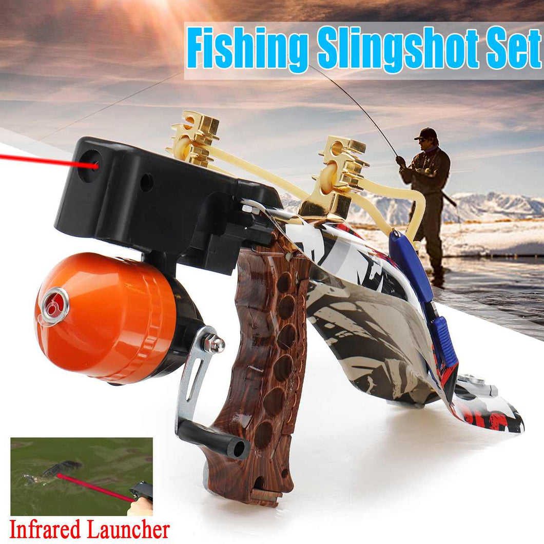 Awesome Infrared Laser Fishing and Hunting Slingshot