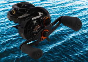 HE-150 Bait casting Reel 6+1BB 6.6:1 Right or Left Handle Fishing Reel For Deep Sea Fishing