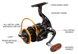 12BB Spinning Fishing Reel  for Saltwater