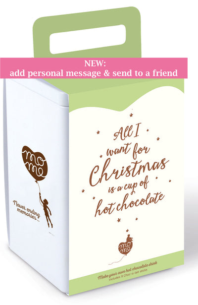Christmas box + add personal message