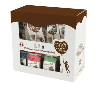 MoMe Gift box + gift wrapping / (8sticks)