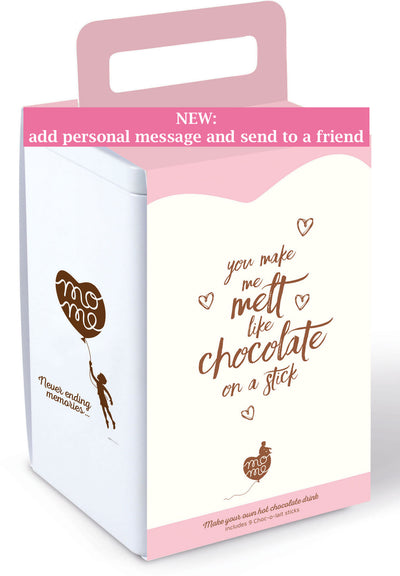 Love box + add a personal message