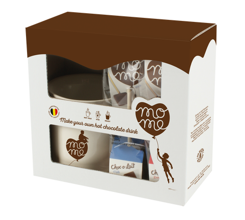 MoMe Gift box / (4sticks + MoMe mug)