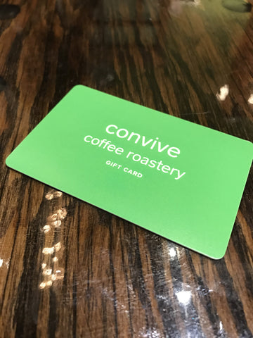 convive gift card (only redeemable in store)