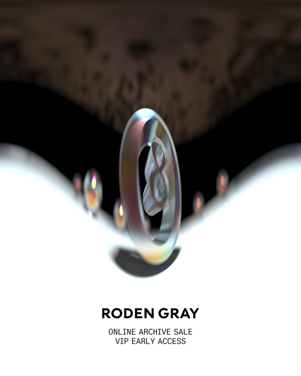 Roden Gray Online Archive Sale