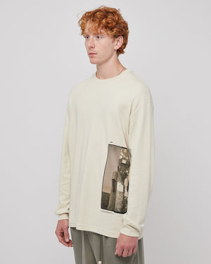Wall L/S Pullover in Beige