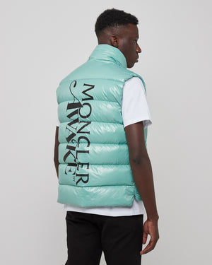 Awake Parker Vest in Teal