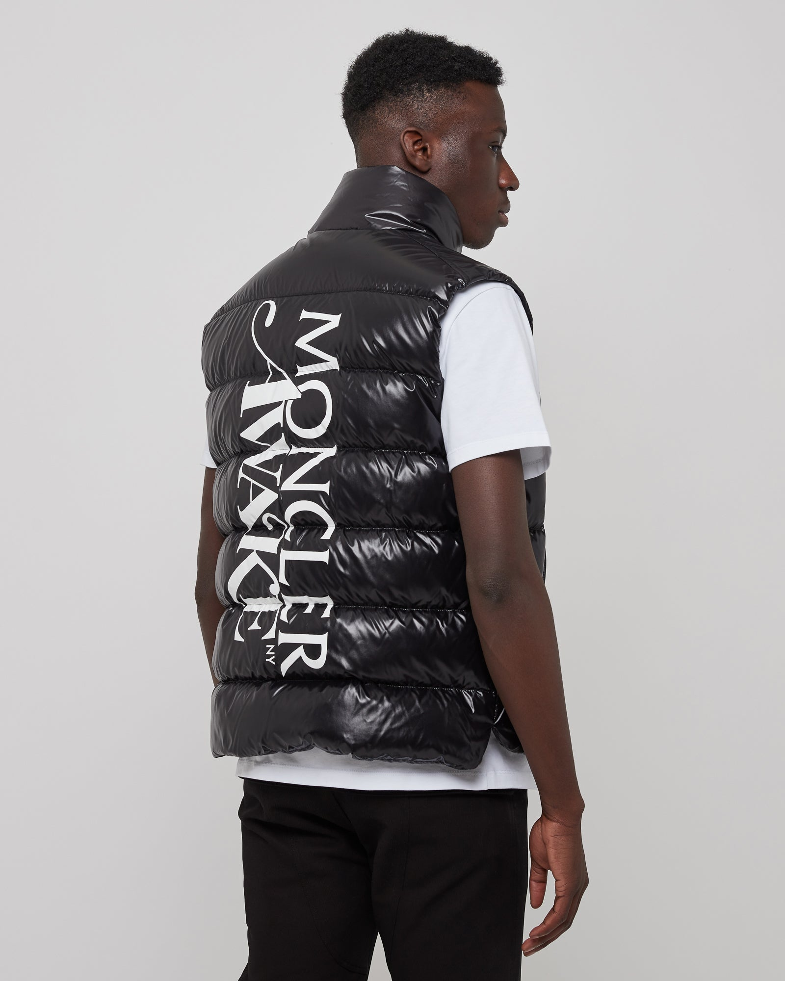 Awake Parker Vest in Black
