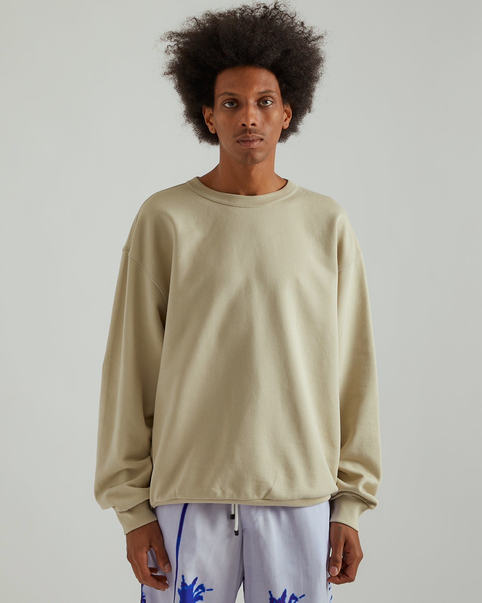 Haxti Sweater in Cement