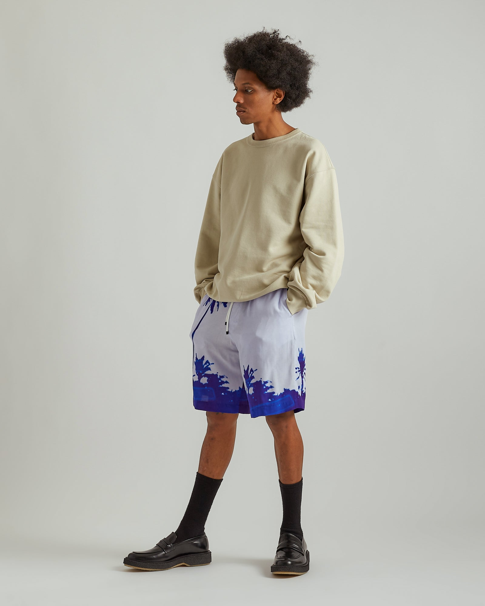 Piperi Shorts in Blue