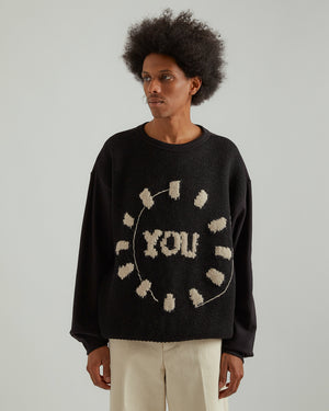 Hayland Sweater in Black