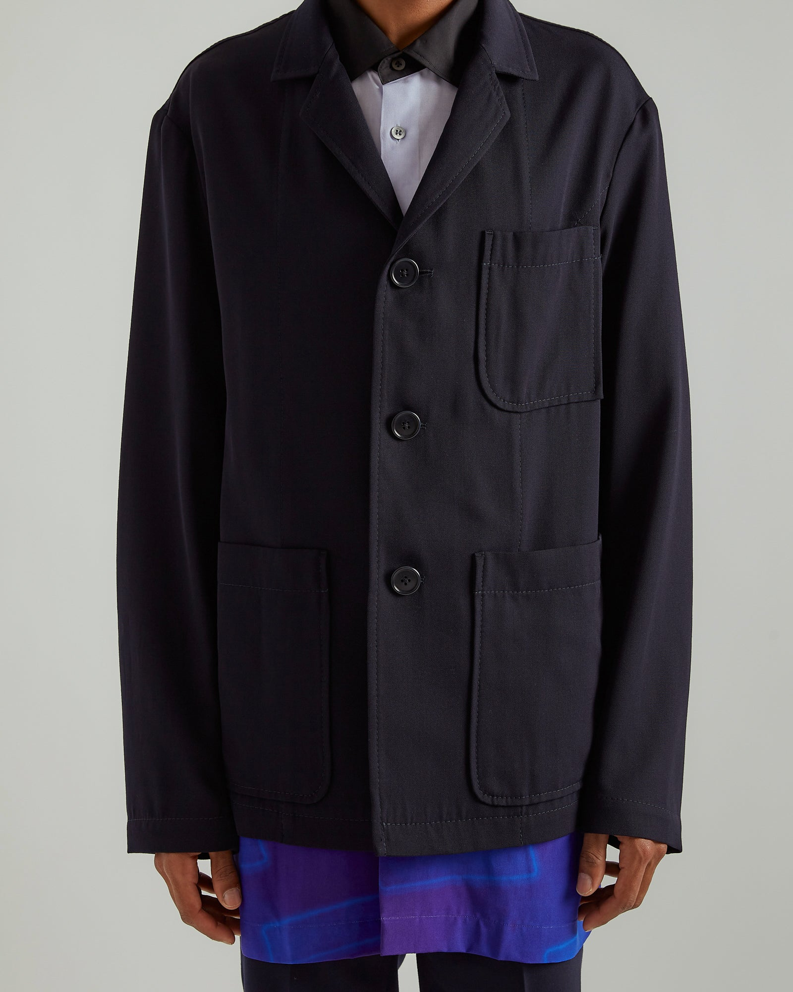 Blas Jacket in Navy