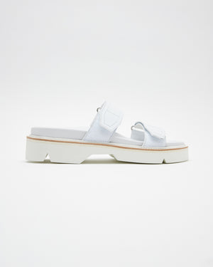 Leather Sandals in White