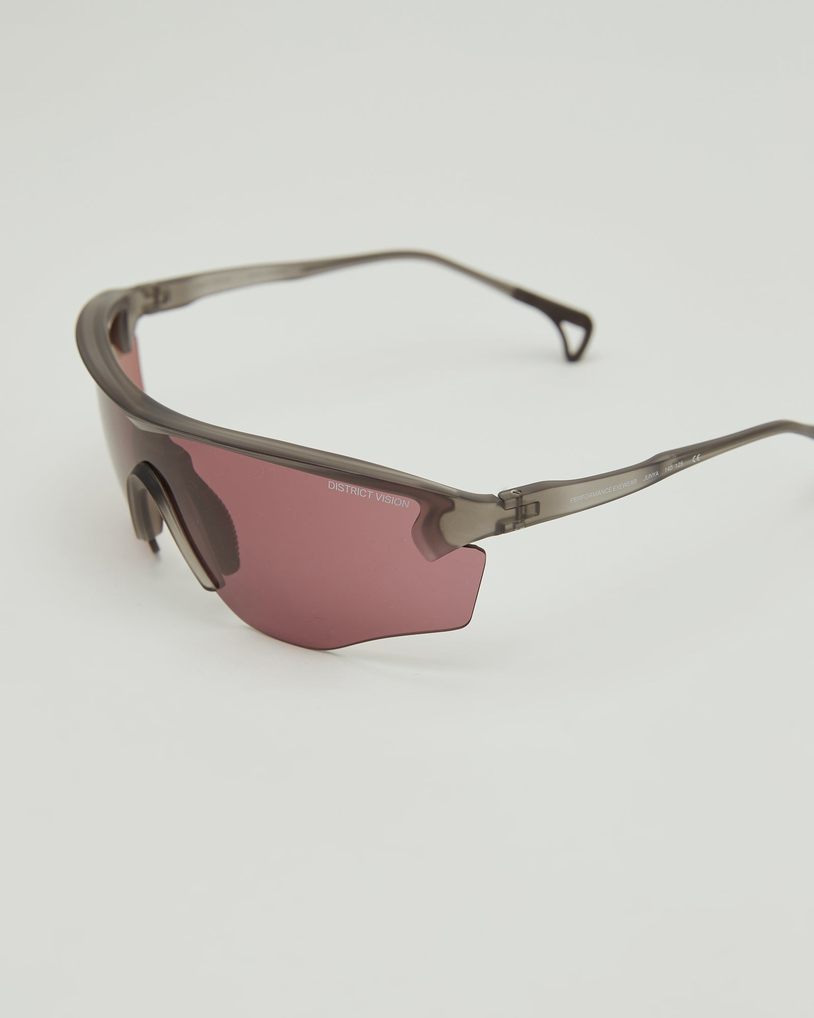 Junya Racer Sunglasses in Black Rose
