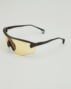 Junya Racer Sunglasses in Yellow