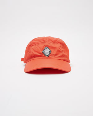 Rhombus Logo Cap in Red Clay