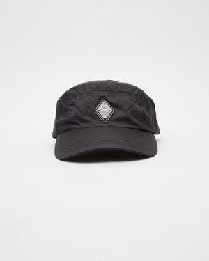 Rhombus Logo Cap in Black