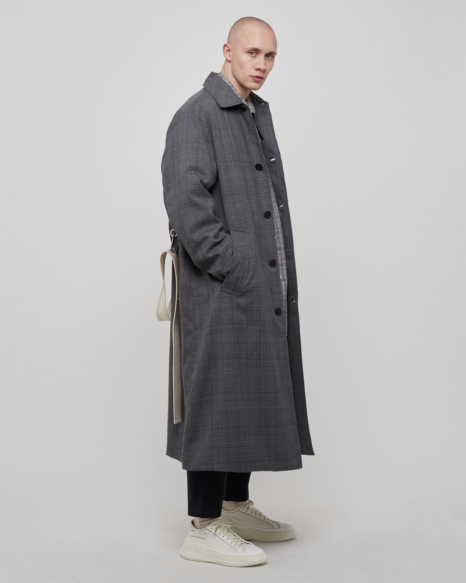 Alka Coat in Heather Gray