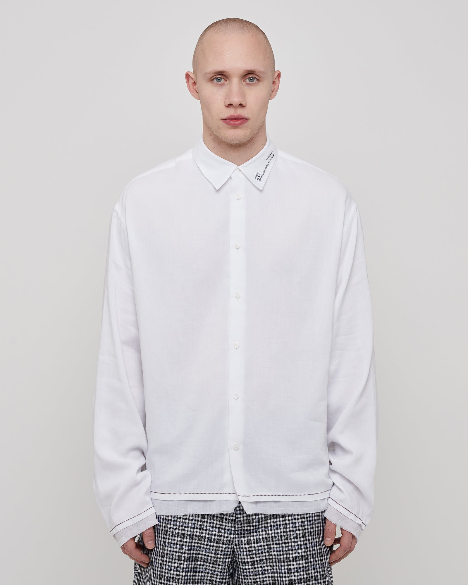 Haze Shirt in Off White