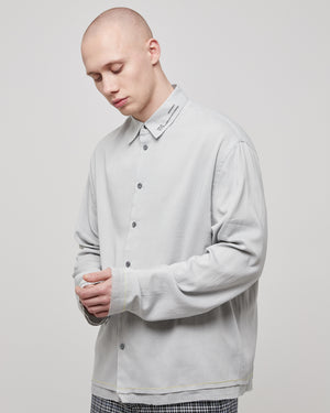 Haze Shirt in Light Gray